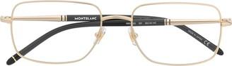 Montblanc Rectangular-Frame Prescription Glasses