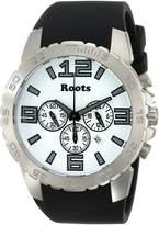 Roots Men's 1R-LF604WH1B Nominigan Analog Display Japanese Quartz Black Watch