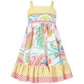 Roberto Cavalli Roberto CavalliGirls Colourful Print Cotton Dress