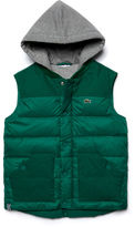 Lacoste Kids' Bi-material Quilted Vest