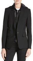Veronica Beard Women's 'Classic' Lambswool Blend Single Button Blazer