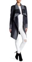 Diane von Furstenberg Mackenzie Reversible Wool Blend Coat