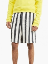 Haider Ackermann Striped Satin Shorts