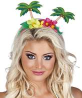 Boland BV Hawaiian Palm Trees/ Flower Headband Fancy Dress Accessory