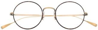 Eyevan 7285 Merced round-frame optical glasses