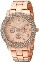 XOXO Women's Quartz Metal and Alloy Automatic Watch, Color:Rose Gold-Toned (Model: XO5935)