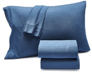 Lucky Brand Closeout! Jersey Knit Set of 2 Standard Pillowcases, Created for Macy's Bedding