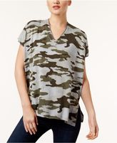 Vince Camuto TWO By Cotton Camo-Print T-Shirt
