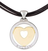 Bvlgari Tondo Heart Pendant Necklace