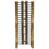 Oriental Furniture Good Practical Useful Gift Idea for Him or Her, 18-Inch Japanese Bamboo Vertical CD/DVD Media Storage Display Rack