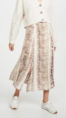 re:named apparel re:named Ethan Snake Midi Skirt