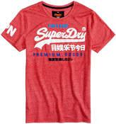 Superdry Men's Vintage Premium Goods Logo-Print T-Shirt