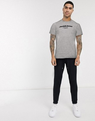 Jack and Jones Big scale branded t-shirt