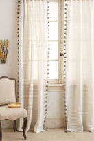 Anthropologie Pom Tassel Curtain