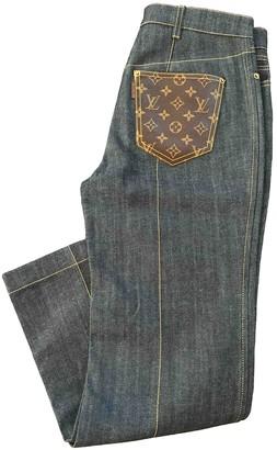 Louis Vuitton Blue Denim - Jeans Trousers