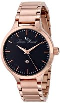 "Lucien Piccard Women's LP-12917-RG-11 ""Lleida"" Stainless Steel Rose Gold-Tone Watch"