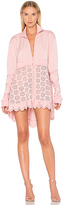 Fenty by Puma Eyelet Jacket in Pink