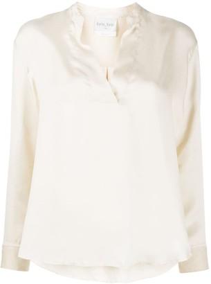 Forte Forte V-neck cotton blouse
