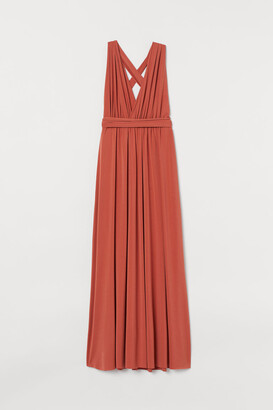 H&M Multiway Long Dress - Orange