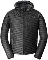 Eddie Bauer Men's MicroTherm StormDown Hooded Jacket, L