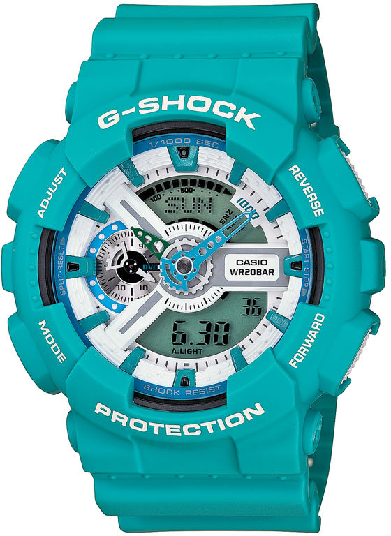 G-Shock 'X-Large' Dual Movement Watch, 55mm