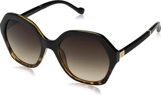 Jessica Simpson Women's J5656 Over-Sized UV Protective Geometric Sunglasses | All-Season | A Glam Gift 68 m