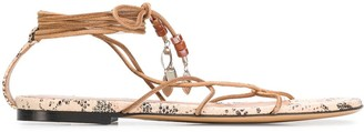 Isabel Marant Jindia strappy sandals