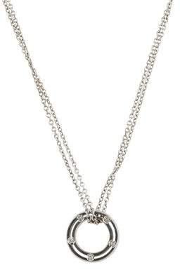 Damiani Diamond D.Side Pendant Necklace