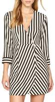 Amuse Society Caught You Looking Stripe Dress
