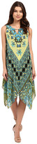 Christin Michaels Marsha Printed Dress