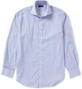 Thomas Dean Gingham Long-Sleeve Woven Shirt