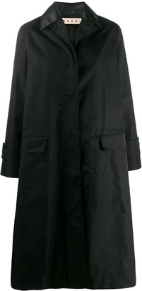 Marni spread collar coat