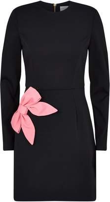 Rebecca Vallance Winslow Bow-Embellished Dress