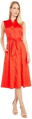 Nic+Zoe Santa Monica Shirtdress (Poppy) Women's Clothing