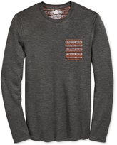 American Rag Men's Solid Thermal Print Pocket T-Shirt, Only at Macy's