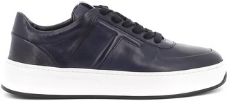 Tod's Stitched T Lace Up Sneakers