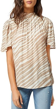 Habitual Chelsea High Neck Blouse