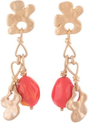 Ports 1961 Chain Slip-On Earrings