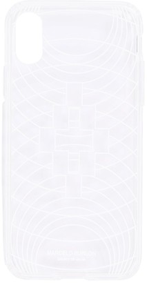 Marcelo Burlon County of Milan Transparent Tech Iphone X/Xs Case