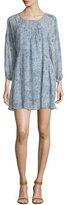 Joie Achroite Paisley-Print Silk Dress