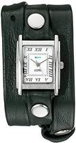 La Mer Women's LMSTWGMA14012 Analog Display Japanese Quartz Green Watch