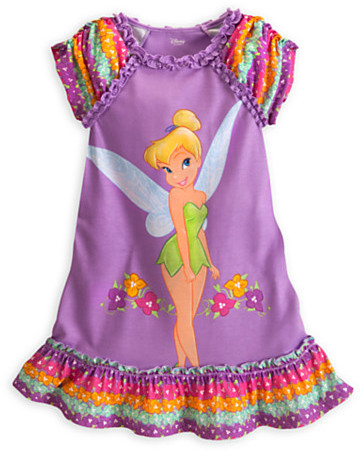 Disney Tinker Bell Nightshirt for Girls