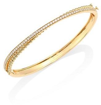 Hueb Bubbles Diamond & 18K Yellow Gold Bangle Bracelet