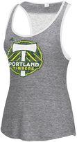 adidas Women's Portland Timbers Pearl Logo Lace Back Tank Top