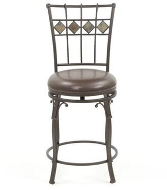 "Red Barrel Studio Boyers Bar & Counter Swivel Stool Seat Height: Counter Stool (24"" Seat Height)"