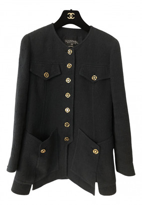 Chanel Navy Tweed Jackets