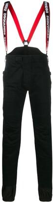 DSQUARED2 Logo Suspenders Ski Trousers