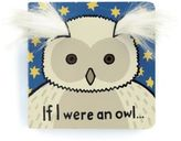 "Jellycat If I Were An Owl"" Book"