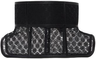 Loewe Black Lace Obi Belt