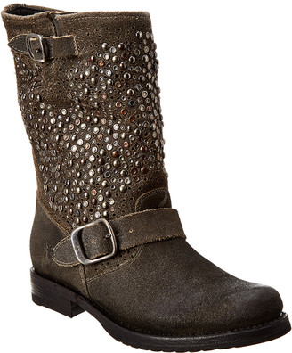 Frye Veronica Deco Short Leather Boot